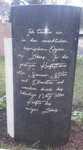 Bildhauerei Horras Spruch für grabstein